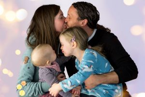 Familienfotos/ Kinderbilder in Fotostudio Bergheim