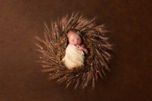 Neugeborenefotografie Babyfotos in Fotostudio kerpen