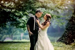 Hochzeitsfotografie im Bergheim